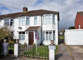 Thumbnail 3 bed semi-detached house for sale in Old Mead Road, Littlehampton