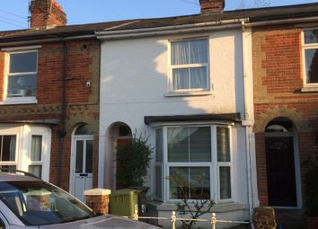 Thumbnail 3 bed terraced house to rent in Greenhill Road, Fulflood, Winchester, Hampshire