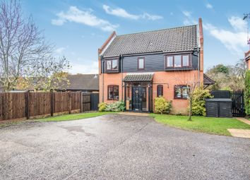 Thumbnail 4 bed detached house for sale in Manor Court, North Walsham