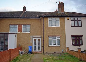 Thumbnail 3 bed terraced house for sale in Crown Road, Ilford, Essex