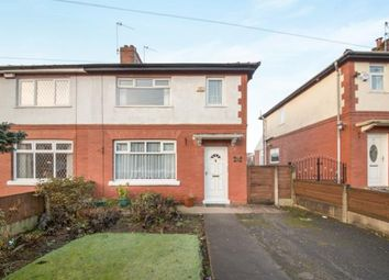 Thumbnail 3 bed semi-detached house for sale in Poplar Road, Worsley, Manchester, Greater Manchester