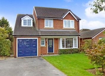 Thumbnail 4 bed detached house for sale in Millgate, Cuddington, Cuddington Northwich, Cheshire