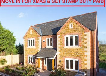 Thumbnail 4 bed detached house for sale in Rectory Drive, Upper Broughton, Nottingham