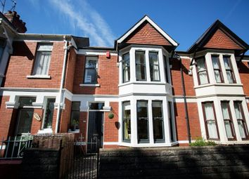 Thumbnail 4 bed terraced house for sale in Allensbank Road, Heath, Cardiff
