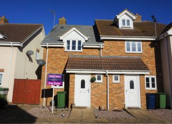 Thumbnail 2 bed end terrace house for sale in Jolley Close, March