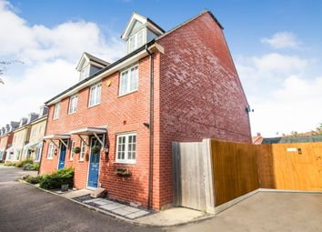 Thumbnail 4 bed town house to rent in Wagtail Gardens, Wixams, Bedford