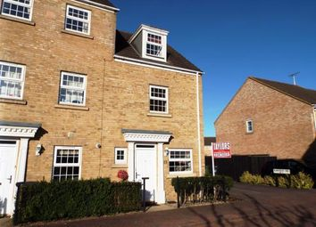 Thumbnail 3 bed end terrace house for sale in Robertson Way, Sapley, Huntingdon, Cambs