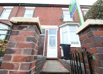 Thumbnail 2 bedroom terraced house to rent in Princes Road, Hartshill, Stoke-On-Trent