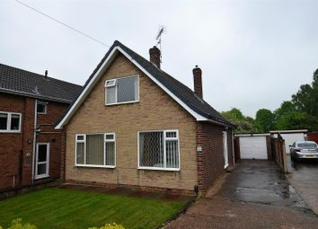 Thumbnail 3 bed detached bungalow for sale in Hillsway, Chellaston, Derby