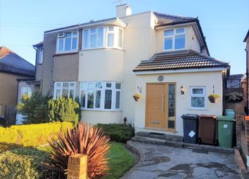 Thumbnail 3 bed semi-detached house to rent in Ashfield Avenue, Bushey, Hertfordshire