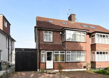 Thumbnail 5 bed semi-detached house to rent in High Road, London N12,