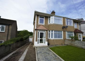 Thumbnail 3 bed semi-detached house for sale in Efford Crescent, Plymouth