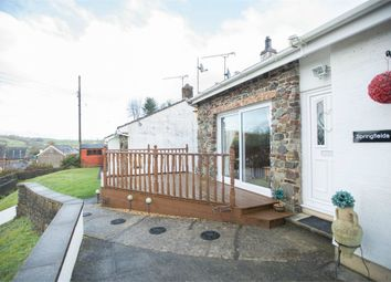 Thumbnail 3 bed detached bungalow for sale in Llanddowror, St Clears, Carmarthen