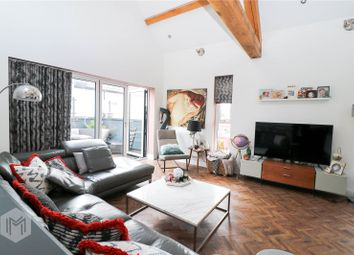 Thumbnail 2 bed mews house for sale in Chaddock Hall Drive, Worsley, Manchester