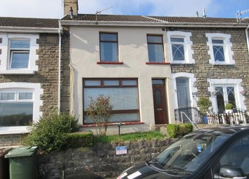 Thumbnail 3 bed terraced house for sale in Lancayo Street, Bargoed