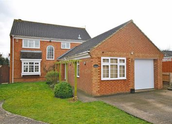 Thumbnail 4 bed detached house for sale in Princess Close, Abington, Northampton
