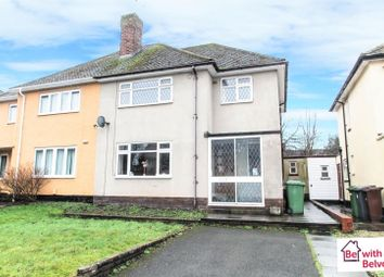 Thumbnail 3 bed semi-detached house for sale in Bentley Road, Bushbury, Wolverhampton