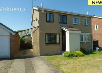 Thumbnail 2 bed semi-detached house for sale in Crossfield Drive, Skellow, Doncaster.