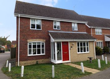 Thumbnail 3 bed detached house for sale in Cedar Drive, Worlingham