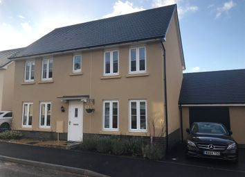 Thumbnail 3 bed detached house for sale in Baron Way, Newton Abbot