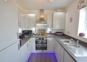 Thumbnail 2 bedroom flat for sale in Delphinium Court, Eynesbury, St Neots, Cambridgeshire
