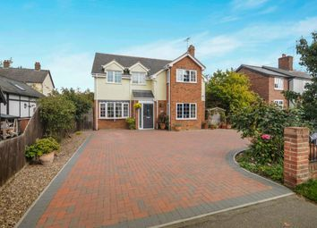 Thumbnail 4 bed detached house for sale in Main Road, Ford End, Chelmsford