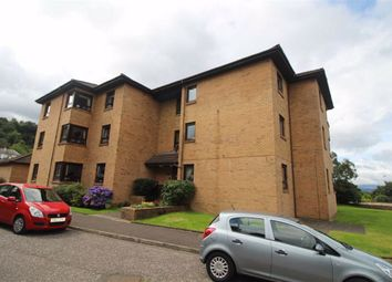 Thumbnail 2 bed flat for sale in Drumslea, Greenock