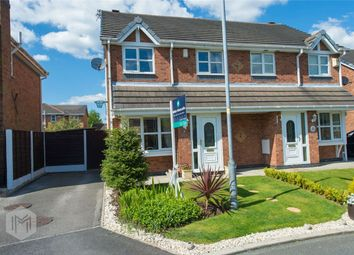 Thumbnail 3 bed semi-detached house for sale in Cloughbank, Radcliffe, Manchester, Lancashire