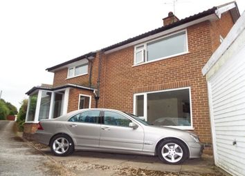 Thumbnail 3 bed property to rent in Bancroft Drive, Allestree, Derby