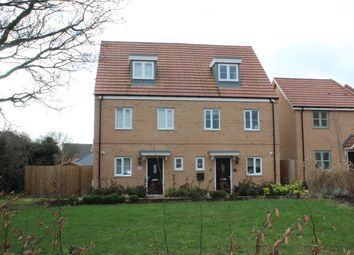 Thumbnail 3 bed semi-detached house for sale in Yates Meadow, Potton, Sandy