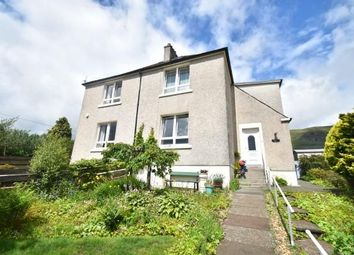 Thumbnail 2 bed semi-detached house for sale in Crow Road, Lennoxtown, Glasgow