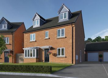 "Thumbnail 5 bed detached house for sale in ""The Fletcher"" at Coventry Road, Cawston, Rugby"