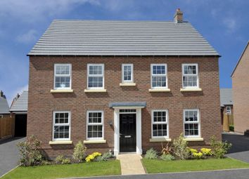 "Thumbnail 4 bed detached house for sale in ""Chelworth"" at Claudius Road, North Hykeham, Lincoln"