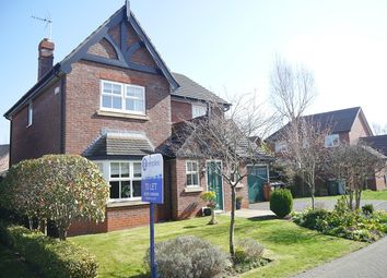 Thumbnail 4 bed detached house to rent in Caldwell Close, Stapeley, Nantwich, Cheshire
