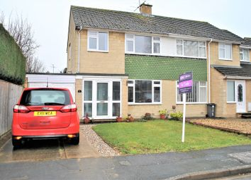 Thumbnail 3 bed semi-detached house for sale in Corfe Close, Swindon