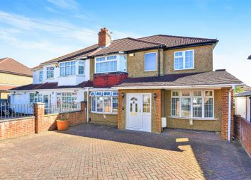 Thumbnail 4 bed semi-detached house for sale in Selbourne Avenue, Surbiton, Surrey
