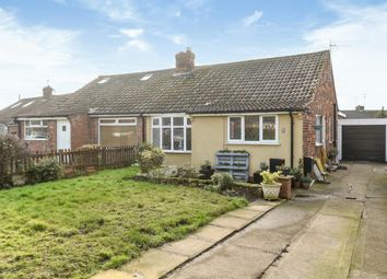 Thumbnail 2 bedroom semi-detached bungalow for sale in Wood Way, York