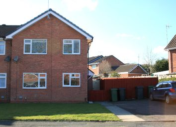 Thumbnail 2 bed end terrace house to rent in Bilbury Close, Walkwood, Redditch