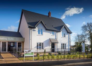 Thumbnail 4 bed detached house for sale in Old Station Road, Mendlesham, Stowmarket