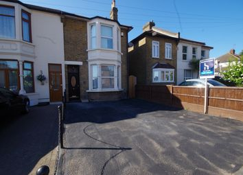 Thumbnail 3 bed end terrace house for sale in Brentwood Road, Gidea Park, Romford