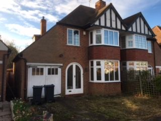 Thumbnail 3 bed semi-detached house to rent in Ferndale Road Hall Green West Midlands, Birmingham B28, Birmingham,