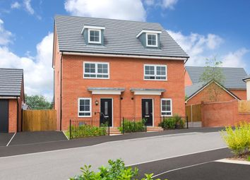 "Thumbnail 4 bed semi-detached house for sale in ""Queensville"" at Shipbrook Road, Rudheath, Northwich"