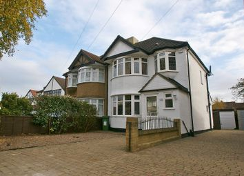 Thumbnail 3 bed semi-detached house to rent in Upper Brentwood Road, Gidea Park
