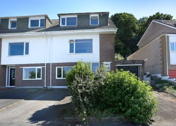 Thumbnail 4 bed semi-detached house for sale in Dunstone View, Plymstock, Plymouth
