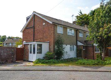 Thumbnail 4 bed semi-detached house for sale in Orchard Way, Barnham, Bognor Regis, West Sussex