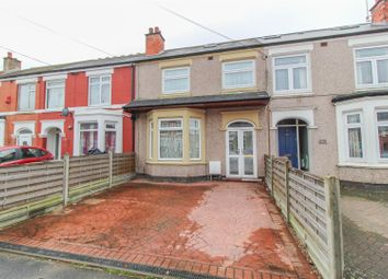 Thumbnail 4 bed terraced house for sale in Abercorn Road, Coventry