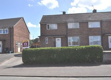 Thumbnail 2 bed semi-detached house for sale in Underwood Road, Silverdale, Newcastle