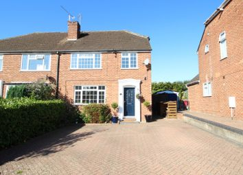 Thumbnail 3 bed semi-detached house for sale in Woodcote Way, Caversham, Reading