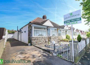 Thumbnail 3 bed semi-detached bungalow for sale in Hammondstreet Road, Cheshunt, Waltham Cross