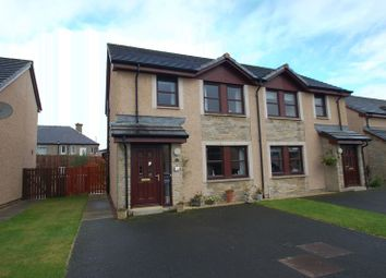 Thumbnail 3 bed semi-detached house for sale in Castledyke Way, Carstairs, Lanark